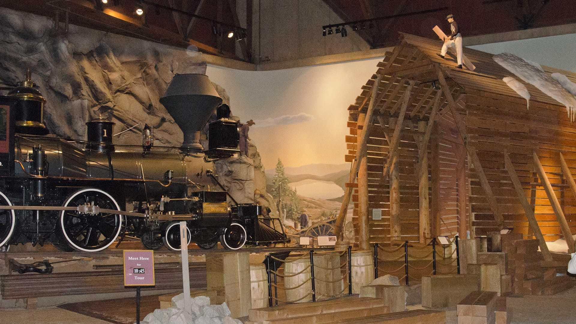 Photographs California State Railroad Museum