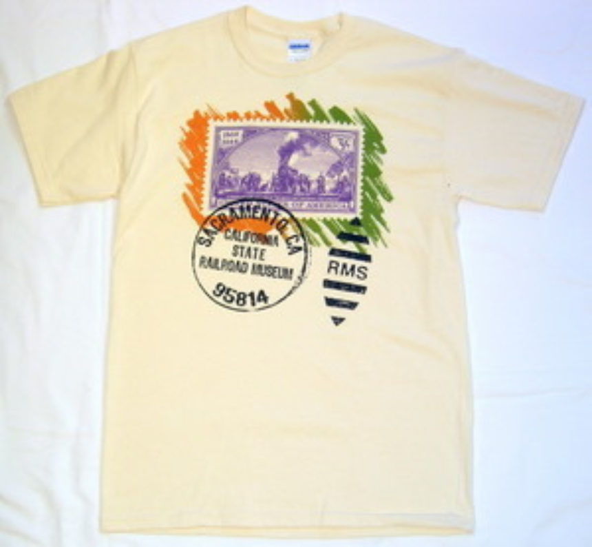 Last Spike Stamp Shirt