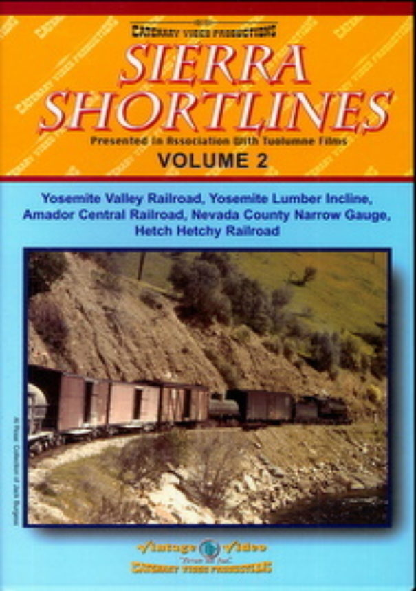 Sierra Shortlines Vol 2 Dvd