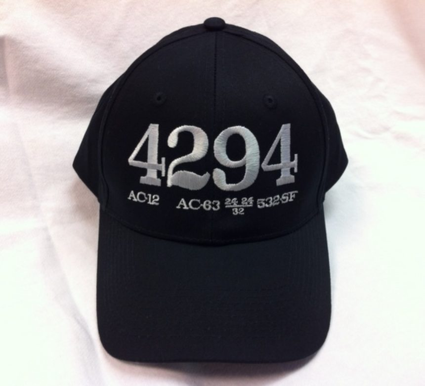 Southern Pacific Cab Forward 4294 Hat