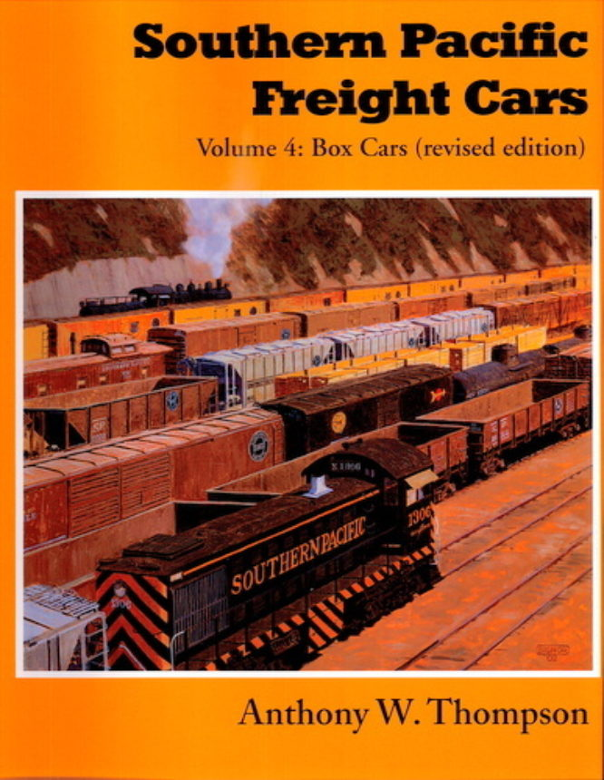 Southern Pacific Freight Cars Vol 4 Revised Edition