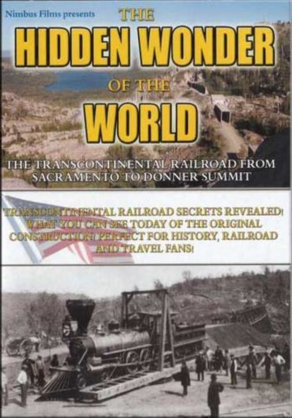 Transcontinental Railroad Hidden Wonder Of The World Dvd