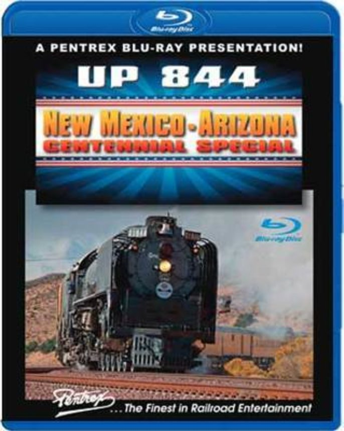 Union Pacific 844 New Mexico Dvd Blu Ray
